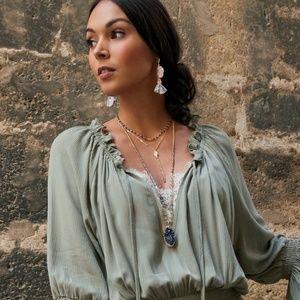 Chloe + Isabel Jewelry - Dreams of Provence Tassel Earrings - Grey